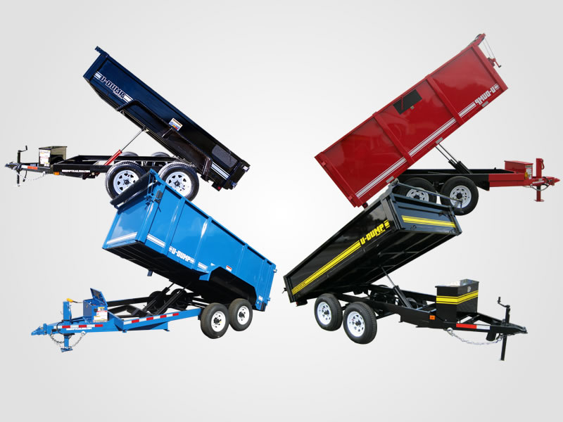 Picking the Right Dump Trailer - Deck Over or Low Profile?