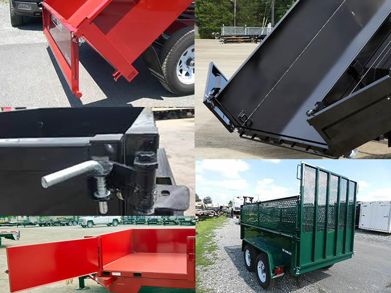 Choosing the Right Dump Trailer Part 2: Rear Gate Types